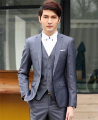 スーツ メンズ  ビジネススーツ メンズスーツ 3点セット 紳士服 スーツ・フォーマル メンズファッション 長袖【送料無料】 WV186