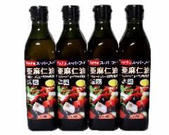 CANA(キャナ) 亜麻仁油 270g x 4本(徳用) 【送料無料/オメガ3系脂肪酸/フラックスシードオイル】