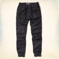 ホリスター パンツ メンズ ジョガー コットン Joggers pants 正規 Hollister 330-0190-014blue