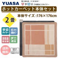 ホットカーペット 2畳 ホットカーペット本体セット YSC-20ST-MS ユアサ