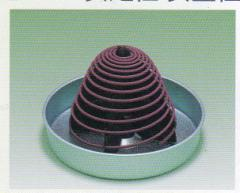 渦巻線香専用【清蓮】をお使いください〜安定性・安全性が向上します。#2816 渦巻線香専用香炉 金属製 清蓮 税抜630円