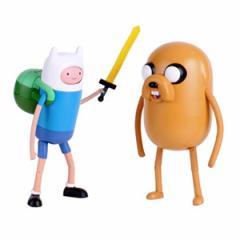 (先払いのみ)海外アニメグッズ Adventure Time(アドベンチャー・タイム) フィン&ジェイク 10インチ スーパー フィギュア(2種1択)