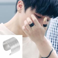 韓国スター・アクセサリー 防弾少年団(BTS)、主君の太陽 コン・ヒョジンのシンプルボールド リング Ring 指輪 (シンプルタイプ/10種1択)