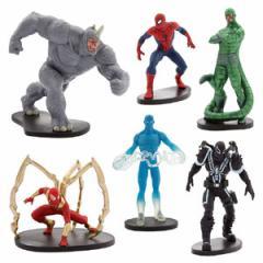 (先払いのみ) 海外グッズ ディズニーUS公式商品 フィギュア スパイダーマン おもちゃ Ultimate Spider−Man Figure Play Set 並行輸入品