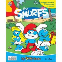(英語版)海外書籍 「The Smurfs:My Busy Books(スマーフ マイ ビジーブック)」 (本+ミニフィギュア12種)