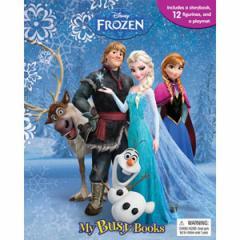 (英語版)海外書籍 「Disney Frozen:My Busy Books(ディズニー アナと雪の女王 マイ ビジーブック)」 (本+ミニフィギュア12種)