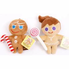 (先払いのみ)韓国ぬいぐるみ  クッキーラン(Cookie Run) キャラクター カバンぬいぐるみ(2種1択)