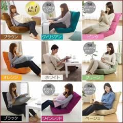 【送料無料】座椅子 リクライニング 敬老 ハイバ...