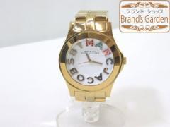 美品♪マークバイマークジェイコブス レディース腕時計(MBM3137)/[4594]