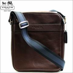 コーチ COACH バッグ ショルダーバッグ メンズ レザー 本革 斜め掛け 斜めがけ 鞄 カバン マホガニー ブラウン 茶色 アウトレット f71723