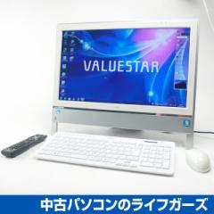 NEC 液晶一体型PC/Windows7/Celeron P4600 2.0GHz/RAM4GB/HDD1TB/DVDマルチ/20型ワイド/無線LAN/地デジ/NEC VN370/ES 中古PC 978