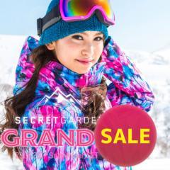 【SALE】送料無料【15-16 SECRET GARDEN GRANDE(グランデ)Type-A】レディース スノーボードウェア上下セット