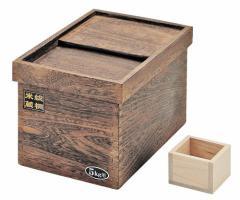 このお値段で桐製!【おいしく保存 桐製 米びつ 10kg 用】 パール金属 H-5550 こめびつ 米櫃