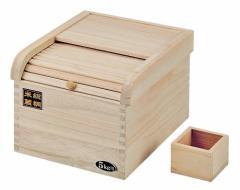 このお値段で桐製!【おいしく保存 桐製 米びつ 5kg 用】 パール金属 H-5547 こめびつ 米櫃
