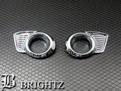 BRIGHTZ ワゴンRスティングレー MH23S メッキフォグライトカバー Aタイプ