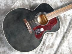 Epiphone Acoustic Guitar EJ-200 Artist Trans Black (TB)【エピフォン】