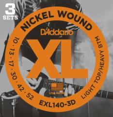 D'addario/エレキ弦 EXL140-3D(3セット入りパッ...