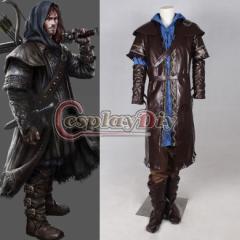 高品質 高級コスプレ衣装 ハロウィン ホビット 竜に奪われた王国 風 The Hobbit: The Desolation of Smaug tauriel Costume Cosplay