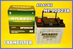 ATLAS 90D23R アトラス 国産車用 バッテリー