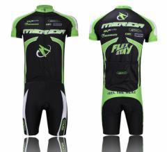 2015新作MERIDAサイクルジャージ上下セット/男性用自転車サイクルウェア半袖/吸汗速乾/通気がいい/夏上下セット普通タイプ