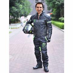 Monster Energyライダージャケット バイクジャケット上下セット 秋冬 メンズ ライダース メンズ アウター モンスターエナジー