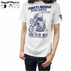 STUDIO DARTISAN(ステュディオダルチザン) メンズ USAコットン 半袖Tシャツ 9817A