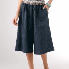 よろけ織りキュロットスカート レディース sa p13574 4400円で送料無料 8800円で代引料無料