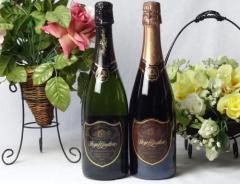 スペインスパークリングワインセット(グラン・キュヴェ、ドンペリの勝った噂のロジャー グラート )750ml×2本 お歳暮 クリスマス