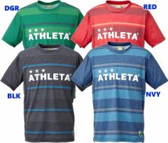 アスレタ ATHLETA 16SS ボーダープラTシャツ 03278 フットサル Tシャツ 倉庫在庫