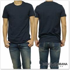 【セール 35%OFF!】DOLCE&GABBANA UNDERWEAR ドルチェ&ガッバーナ アンダーウェア メンズTシャツ N60149 O0024 ブラック