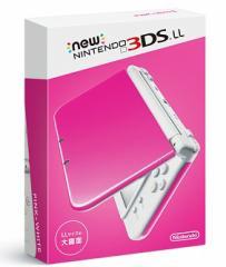 【即日発送/15時までの注文】【新品】New ニンテンドー3DSLL 本体 PINK×WHITE ピンク×白 新色