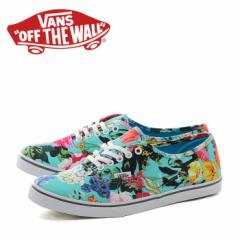 SALE! VANS AUTHENTIC LO PRO (FLORAL)SMOKED PEARL/TRUE WHITE バンズ オーセンティック 花柄 メンズ レディース スニーカー