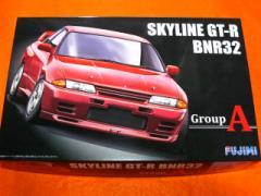【遠州屋】 SKYLINE GT-R BNR32 GroupA ニッサン スカイライン 1/24スケール (ID-250) フジミ (市)★