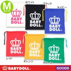 王冠ロゴキンチャク(Mサイズ)-きんちゃく巾着袋ベビードール 子供服-5895