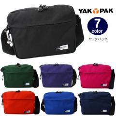 ヤックパック バッグ YP0502 上部両引きファスナー ショルダーバッグ YAKPAK 全7カラー 男女兼用 ag-727500