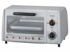 TOSHIBA オーブントースター ハイパワー1000W&火力3段切替 シルバー HTR-J35(S)