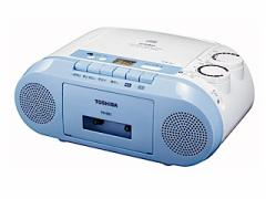 TOSHIBA CDラジカセ カセットテープ録音 CD再生 ラジオ  TY-CK2(L)