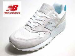 【送料無料】wl999-wa ニューバランス new balance ライフスタイル ランニングスタイル ホワイト/ブルー【レディース・靴】