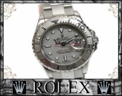 あす着 ROLEX ロレックス ヨットマスター ロレジウム レディース腕時計 SS プラチナベゼル 自動巻き 169622 D番 ウォッチ シルバー