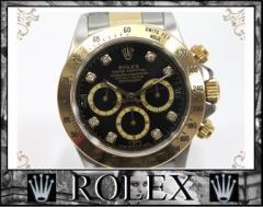 ★ロレックス デイトナ コスモグラフ  8Pダイヤ メンズ腕時計★