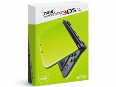 【新品・即納】 Newニンテンドー3DS LL ライム×ブラック /3DS本体 3DSLL本体