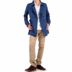 キレイめにハズせないトレンチコート&白シャツに脚長チノ×ブーツでスマートコーディネート