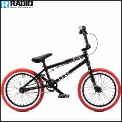 """【2016モデル】BMX 自転車 RADIO """"DICE 16"""" 16インチ ブラック キッズバイク 自転車"""