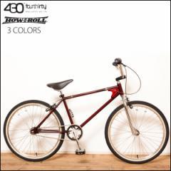 """430×HOW I ROLL """"TWO FOUR"""" 24インチ オールドBMX 3色バリ 自転車"""