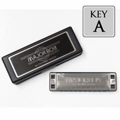 TOMBO(トンボ)「MAJORBOY NO.1710 Key=A(エー)」メジャーボーイ/10ホールズ・ハーモニカ【送料無料】:-as