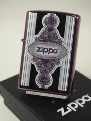 ジッポーZippo Abyss ジッポーロゴ紋章・パープル紫 新品#28866新品