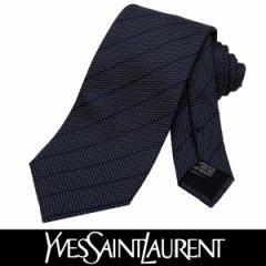 Yves Saint Laurent イヴサンローラン ネクタイ 新柄 シルク メンズ 紳士 ビジネス フランス製 (13)