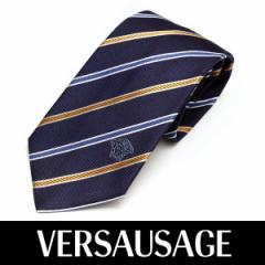 VERSACE ヴェルサーチ ネクタイ 新柄 メンズ 紳士 (66) 定価18360円 1172-0001