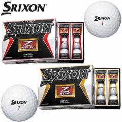 ダンロップ 2015年モデル NEW スリクソン Z-STAR / Z-SATR XV ゴルフボール(12球入り)