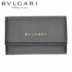 BVLGARI ブルガリ 32583 CANVAS/BLK キーケース/32583 /import